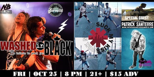 Washed in Black [Pearl Jam] & Suck My Kiss [RHCP] Tributes