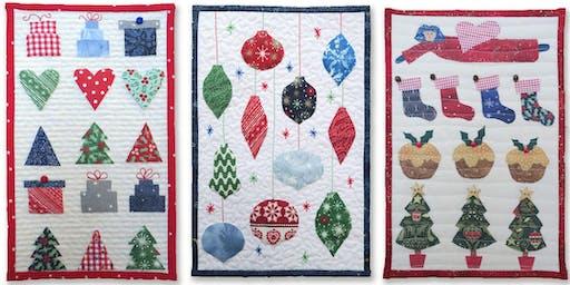 Christmas Miniatures Quilt with Julia Gahagan