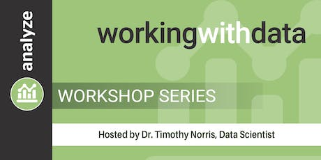 Working with Data Workshop Series tickets