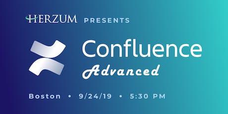 Confluence Advanced - Boston tickets