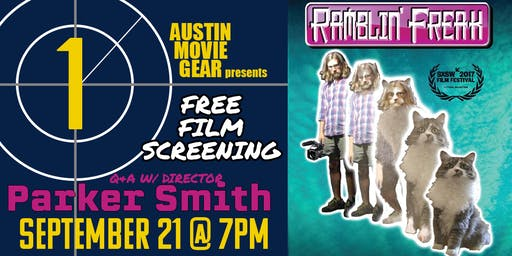Free Film Screening: RAMBLIN' FREAK