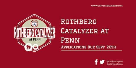 2019 Rothberg Catalyzer Design Studio 1: Design Thinking tickets