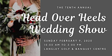 Head Over Heels Wedding Show tickets