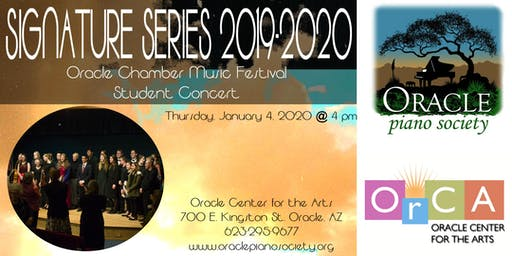 Signature Series: Student Concert. Oracle Chamber Music Festival