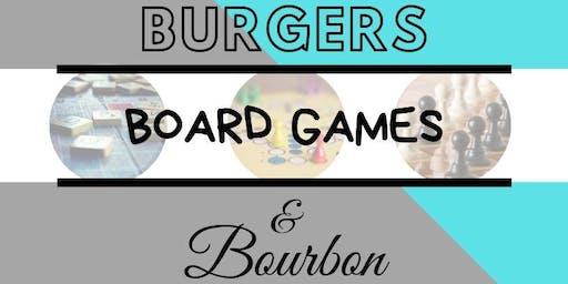Panache Presents: Burgers, Board Games, & Bourbon