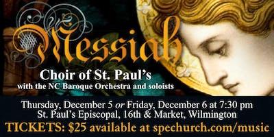 Choir of St. Paul's Concert: Handel's Messiah
