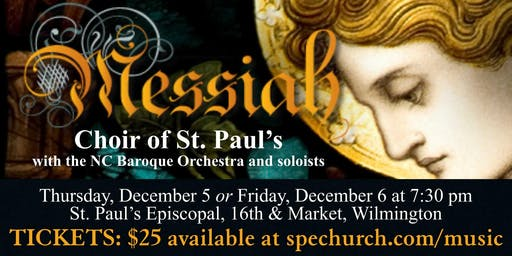 Choir of St. Paul's Concert: Handel's Messiah