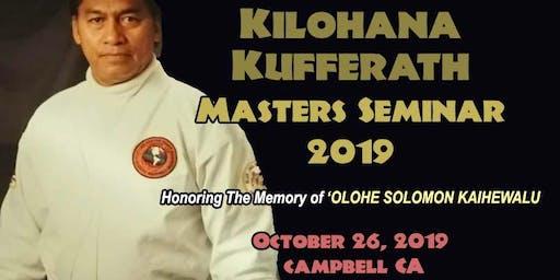 Kilohana Kufferath Masters Seminar 2019