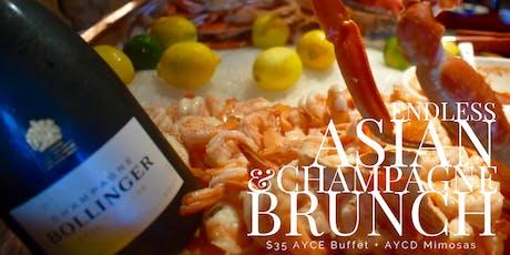 Asian Champagne Brunch - Saturdays & Sundays tickets