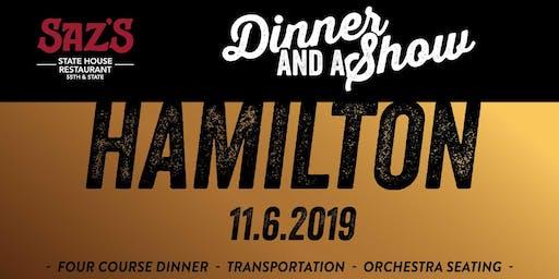 Saz's Dinner and a Show - Hamilton