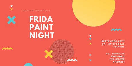 SIP + PAINT NIGHT AT LOCAL FIXTURE tickets