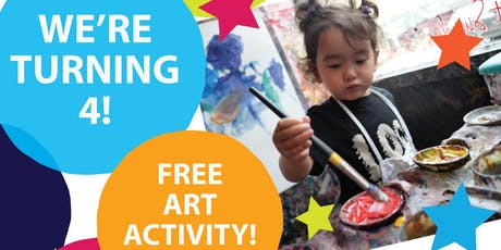 Private Picassos' 4th Anniversary Party with a FREE Art Activity for Kids! tickets