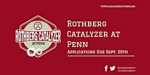 2019 Rothberg Catalyzer Design Studio 2: Rapid...