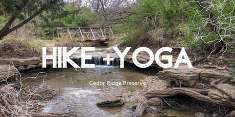 Hike + Yoga tickets
