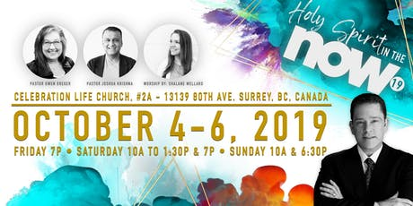 Holy Spirit in the NOW Conference 2019 tickets