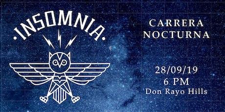 INSOMNIA CARRERA NOCTURNA 2019 entradas