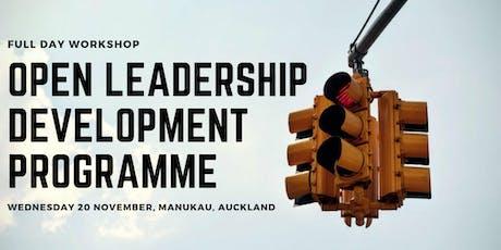 Open Leadership Development Programme 2019 tickets