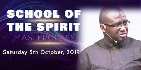 School Of The Spirit Masterclass tickets