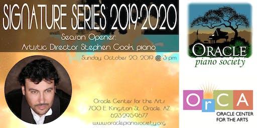 Signature Series Season Opener: Stephen Cook, piano