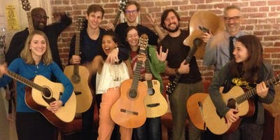 Guitar Level 3 Fall 2019 - an 8 Week Workshop for people excited to play guitar!