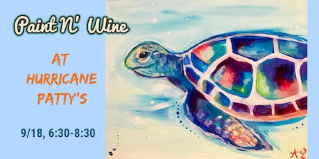 Paint N' Wine at Hurricane Patty's tickets