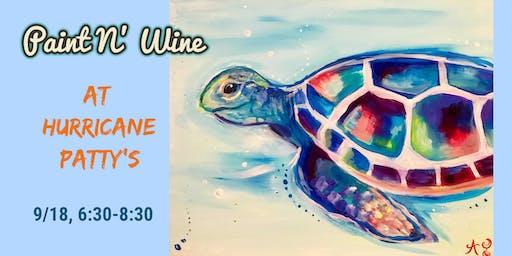 Paint N' Wine at Hurricane Patty's