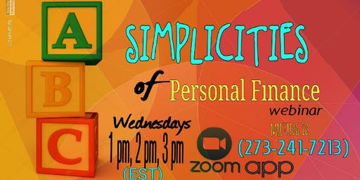 Simplicities of Personal Finance - Charlotte