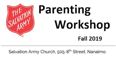 Positive Parenting Workshop - Salvation Army tickets