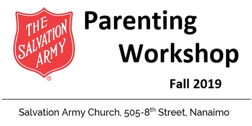 Positive Parenting Workshop - Salvation Army