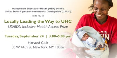 Locally Leading the Way to UHC: USAID's Inclusive Health Access Prize