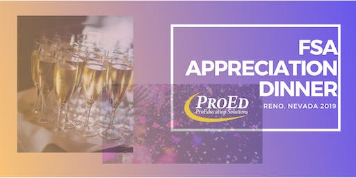 ProEd's Annual Client Appreciation Dinner