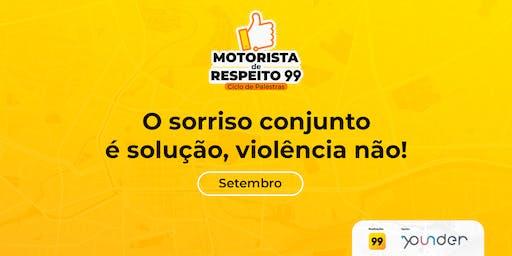 Motoristas de Respeito: O sorriso conjunto é solução, violência não!
