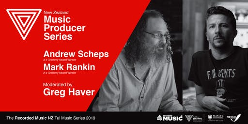 Tui Music Series: Music Producers - Andrew Scheps & Mark Rankin
