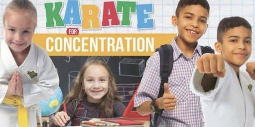 FREE Karate for Concentration Beginner Workshop