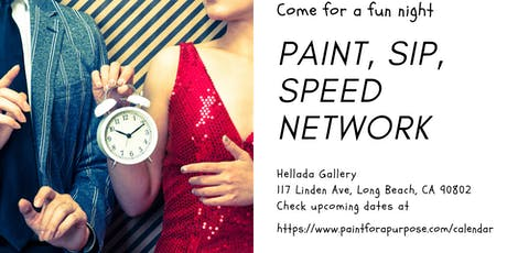 Paint, Sip, and Speed Network tickets