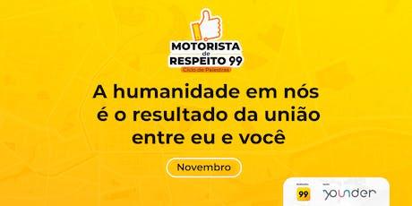 Motoristas de respeito: A humanidade em nós é o resultado da união entre mim e você. ingressos