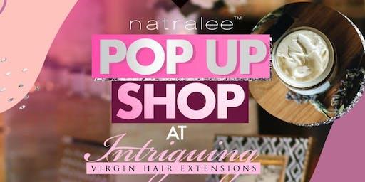 Natralee Popup Shop at Intriguing Hair