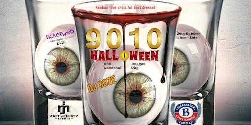 9010 Halloween ( RnB, Reggae, Dancehall & Ukg )