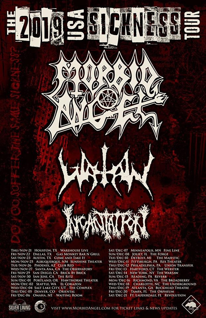 MORBID ANGEL / WATAIN image