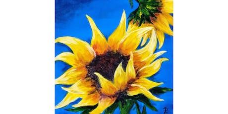 "10/12 - Mimosa Morning ""Sunflower on Blue"" @ Vino at the Landing, Renton tickets"