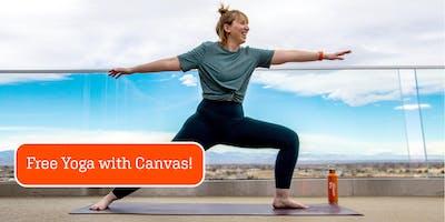 Canvas Yoga Castle Rock