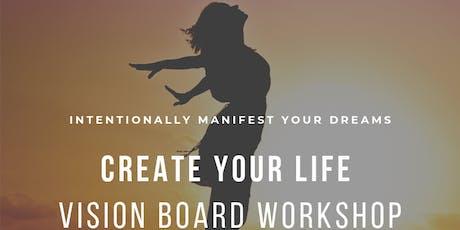 Live Your Best Life - Vision Board Workshop tickets
