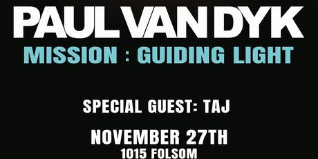 PAUL VAN DYK  at 1015 FOLSOM tickets