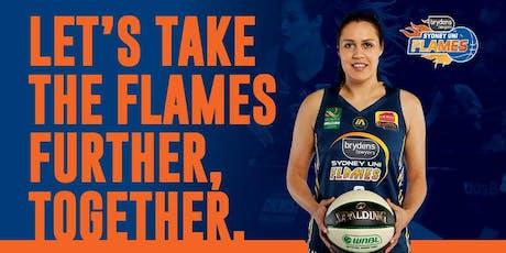 Brydens Sydney Uni Flames 2019/20 Membership tickets