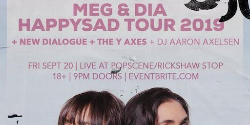 MEG & DIA live @ Popscene