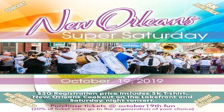 New Orleans Super Saturday tickets