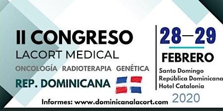 II Congreso Oncología, Radioterapia, y Genética - Lacort Medical entradas