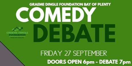 Comedy Debate and Auction tickets