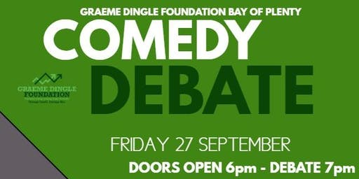 Comedy Debate and Auction