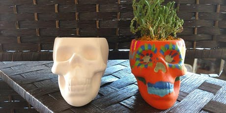 Day of Dead Pot and Succulent Planting tickets